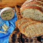 Chleb z gara z mąką...