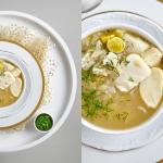 Zupa z dorszem, ryżem i...