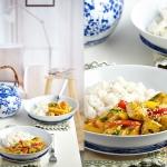 Orientalny kurczak curry...