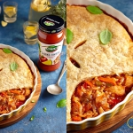 Chicken pot pie z sosem s...