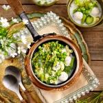 Lekka zupa z zielonych...