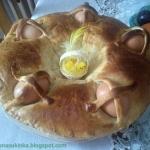 Wielkanocny chlebek...