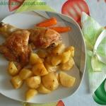 Kurczak z ziemniaczkami...