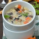 Zupa grzybowa z zakwasem ...