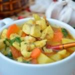Zupa rybna curry z...