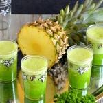 Tropikalny zielony koktaj...