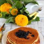 Pancakes z dynia