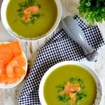Zielona zupa z brokuła,...