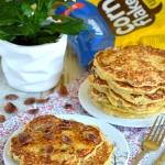 Puszyste pancakes pełne...