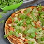Pizza z krewetkami,...