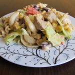 Sałatka gyros-kebab