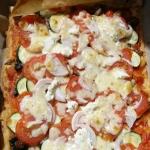 pizza warzywna...