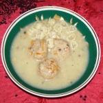 zupa pieczarkowa z...