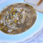 pyszna zupa  a`la flaki...