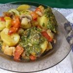 ziemniaki z warzywami i...