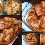 porcje kurczaka z piekarn...