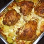 ziemniaki z serem i...