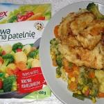 warzywa z patelni z...