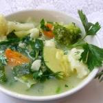zupa warzywna na maśle...