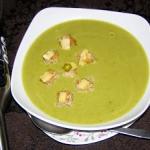 zupa kremowa groszkowa...