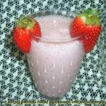 mleczne truskawki z cukre...