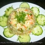 salatka z warzyw rosolowy...