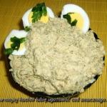 pasta jajeczna z pesto...