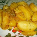 ziemniaki w wywarze z...