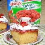 ciasto ucierane z...