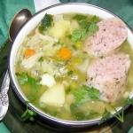 zupa jarzynowa z biala ki...
