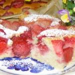 latwe ciasto kisielowe z ...