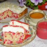 ciasto mocno porzeczkowe ...