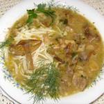 grzybowa zupa z...