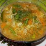 zupa warzywna na...