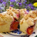 ciasto ucierane owocowe...