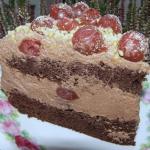 pyszny tort kakaowy z...