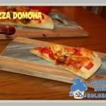 Pizza na domowym ciescie ...