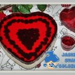 Walentynkowy sernik na zi...