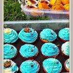 Tęczowe cupcakes z...