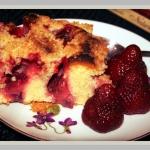 Ciasto z truskawkami i kr...