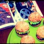 Słodkie hamburgery...