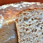 Chleb z ziarnem pszenicy