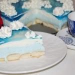Smerfetka - ciasto bez...