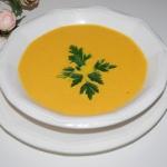 Marchewkowa zupa krem.