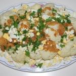 Kalafior z jajkami