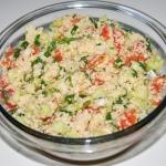 Tabbouleh salatka arabska...
