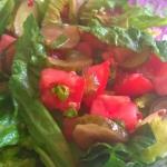 Letnia salatka z ogorkiem...