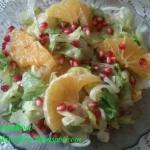 Sałatka z pomarańczami...