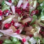 Salatka z granatem i anan...