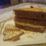 Tort piernikowy z masą...